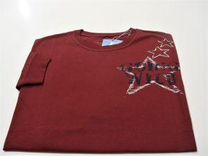 majica veliki broj bordo extra xxl