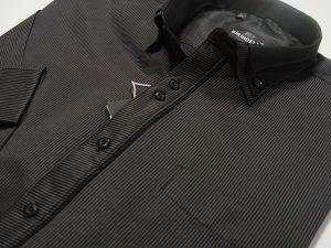 košulja crna prugasta elegant exclusive.